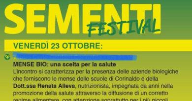 """A Corinaldo Sementi Festival prosegue in digitale: appuntamento online con l'incontro """"Mense bio"""""""