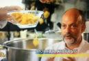 Moreno Cedroni ha presentato a Striscia la notizia la ricetta dello spaghetto psichedelico