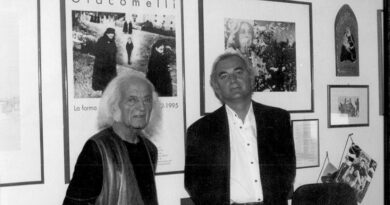 Il reale e l'immaginario, omaggio di Enzo Carli a Mario Giacomelli in occasione della sua commemorazione