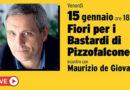 Venerdì dalla Biblioteca Antonelliana incontro live con lo scrittore Maurizio de Giovanni