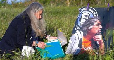 Ad un anno dalla scomparsa Leonardo Barucca ricordato dagli amici sulla collina di Montedoro / VIDEO