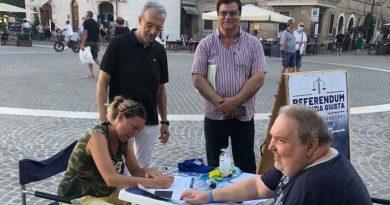 Referendum sulla giustizia, soddisfazione della Lega per le firme raccolte a Senigallia